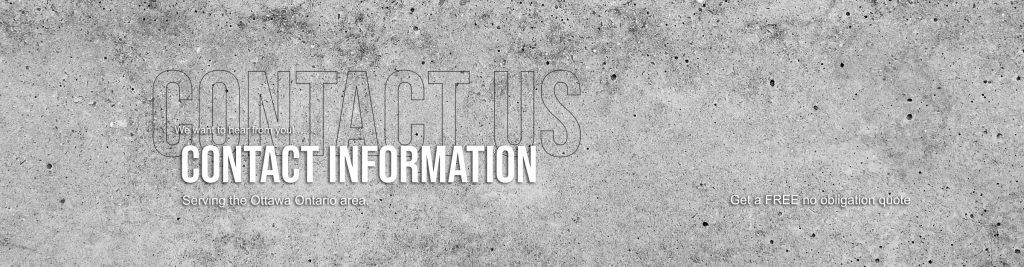 Contact Information Masonry Nation Ottawa