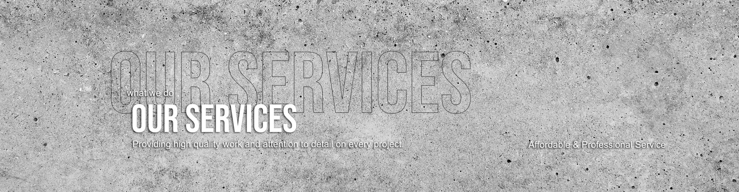 Brick and Stone Masonry Services